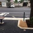 「駒込富士前」とバス停留所を整備