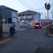 1月21日(日)  駅から夕散歩