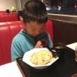 家族で麺を啜る 大勝軒満帆 埼玉県行田市
