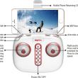 新着商品、20%オフ、SYMA X5UW-D WIFI FPV 720Pカメラ付き オプティカル フロー ポジショニング RC クアッドコプターRTF 2.4GHz