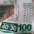 日本なのに統一されていないもの レジ袋