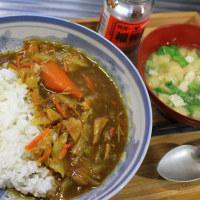 カレーライスと味噌汁