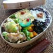 お弁当(豚肉&枝豆のかき揚げ・紅ショウガ風味)