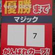 ナゴド中日対広島 0-3 優勝M7