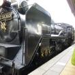 蒸気機関車を見に行きました