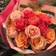 バラのお花束