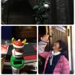 クリスマスリースとクリスマス人形を飾りました〜