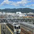 清水駅と富士山 オマケは「富士山コスプレ世界大会」