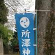 所澤神明社参拝