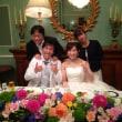 ケースケちゃんの結婚式の写真だよ