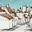 1569.カステロ・デ・ヴィデの城と町角