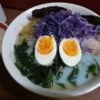 楽食拉麺 菊や 水色ラーメン&ピンクラーメン