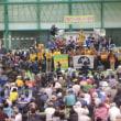 本部港から辺野古への石材海上搬送が始まった!---夜は名護でオスプレイ墜落事故1年の抗議集会