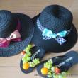 【お稽古】この夏3つ目の麦わら帽子♪
