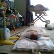 赤ちゃんがいる風景