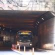 路線バスの表示に「トンネル」と??