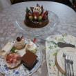 お祝い会(嫁さん誕生日、結婚1周年、孫の3か月)