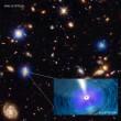 最大級の超大質量ブラックホールは銀河よりも速く成長する?