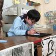 小学部5年生 図工「墨絵を描こう」