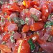 鮪とトマトのフジッリ(Fusilli con tonno fresco e pomodorini)
