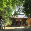 子の神氷川神社(埼玉県新座市膝折)