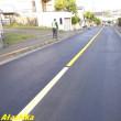 自宅前の道路再舗装工事報告①舗装仕上編