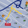 お祭り 西調布 上石原若宮八幡神社 地図