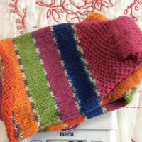 手編み靴下 作品NO.232