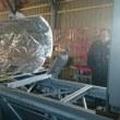 北海道大樹町の宇宙関連施設を酒森町長らの案内で視察しました。観測ロケット射場、航空宇宙実験場、多目的航空公園などを視察しながら、大樹町の航空宇宙分野の研究開発拠点としての優位性を実感しました。
