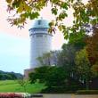 本格的な紅葉はまだ先の那須野が原公園と展望塔