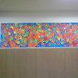 壁面画「紅葉」