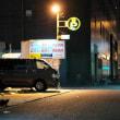 駐車場の灯り