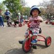 初めての三輪車