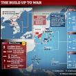 極東の位置関係と戦力マップ
