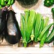 実家から お野菜が ♪