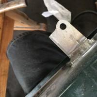 カブ 溶接加工 フロントフォークカスタムしませんか?
