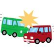 坂下入舟交差点で交通事故