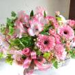 ピンク系の贈り花