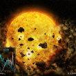 恒星が暗くなった原因を調べていくと、惑星が生まれる現場で起こる衝突が関わっていることが分かってきた