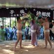 生子神社の泣き相撲