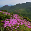 くじゅう、山開きの日の登山p12(白口岳山頂にて)