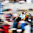 今治市菊間町の加茂神社でお供馬の走り込みが行われました(その2)