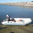 4馬力船外機インフレータブルボート取引完了しました