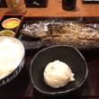 久々に昼はがっつり鯖を食べた