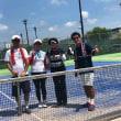 7月テニス3連戦、その2、笠岡アサムラサキ杯ミックスダブルスは3位!