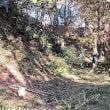 2019年1月20日 滝山城跡景観回復作業 未開拓地「見えてたけど見えなかったところが見えるようになりました」
