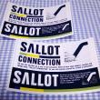 4月30日(月) SALLOTステッカー印刷