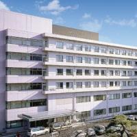 飯田病院の建築イラスト