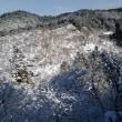 ☆ 雪の吉野山。テラス席からの眺め ☆