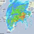 台風18号は今どこに?